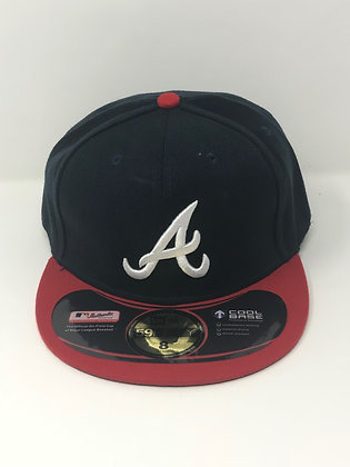 Sz 8 Atlanta Braves Fitted Hat