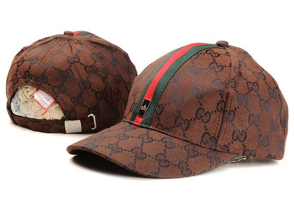 Gucci adjustable hat - Brown