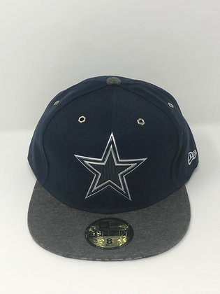 Sz 8 Dallas Cowboys Fitted Hat