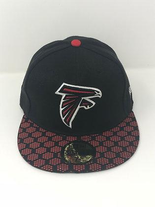 Sz 7 1/8 Atlanta Falcons Fitted Hat