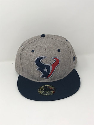 Sz 7 1/2 Houston Texans Fitted Hat
