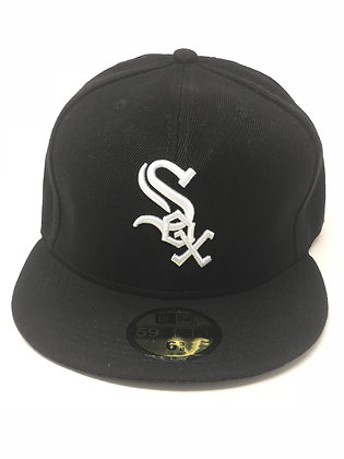 Sz 6 3/8 Chicago White Sox Youth Fitted Hat