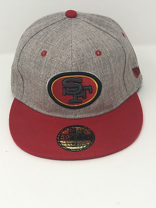 Sz 7 1/8 San Francisco 49ers Fitted Hat