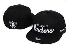 Sz 7 1/8 Los Angeles Raiders fitted hat
