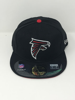 Sz 7 3/8 Atlanta Falcons Fitted Hat