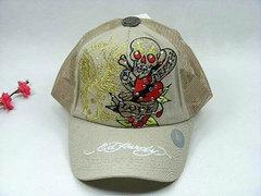 Ed Hardy Adjustable hat - Tan