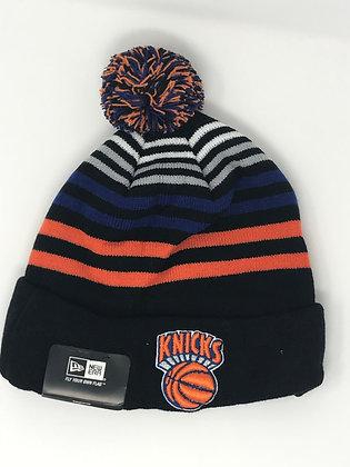 New York Knicks Pom Knit Beanie