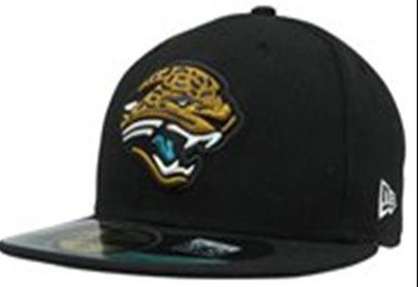 Sz 7 3/4 Jacksonville Jaguars fitted hat