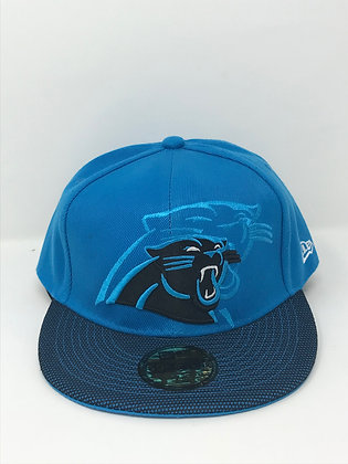 Sz 7 5/8 Carolina Panthers Fitted Hat