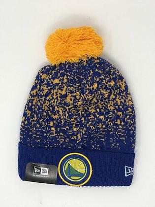 Golden State Warriors Pom Knit Beanie