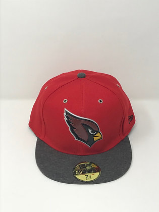 Sz 7 3/4 Arizona Cardinals Fitted Hat