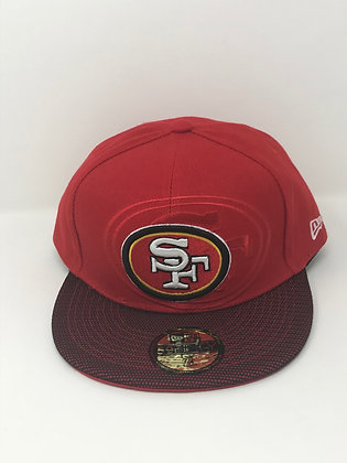 Sz 7 3/4 San Francisco 49ers Fitted Hat