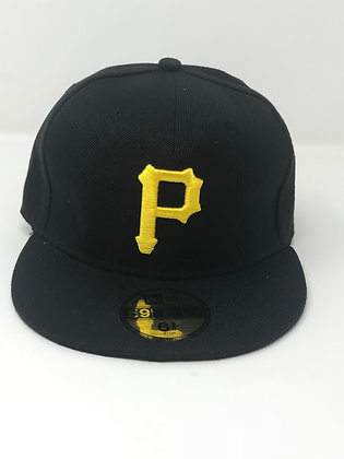 Sz 6 3/8 Pittsburgh Pirates Youth Fitted Hat