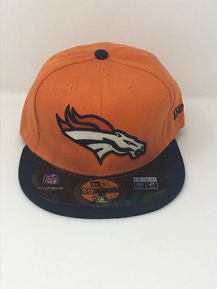 Sz 7 1/8 Denver Broncos Fitted Hat