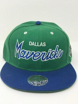 Dallas Mavericks adjustable snapback