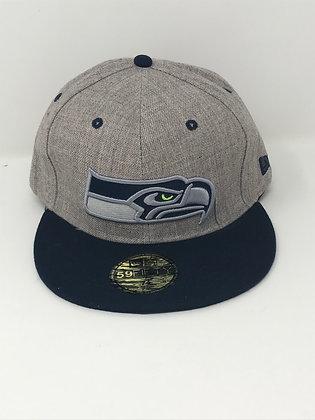 Sz 7 1/4 Seattle Seahawks Fitted Hat