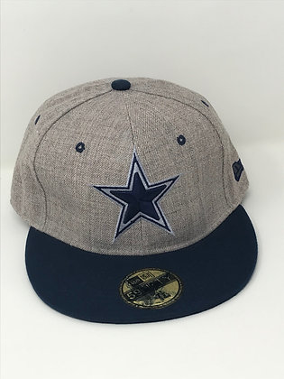 Sz 7 1/2 Dallas Cowboys Fitted Hat