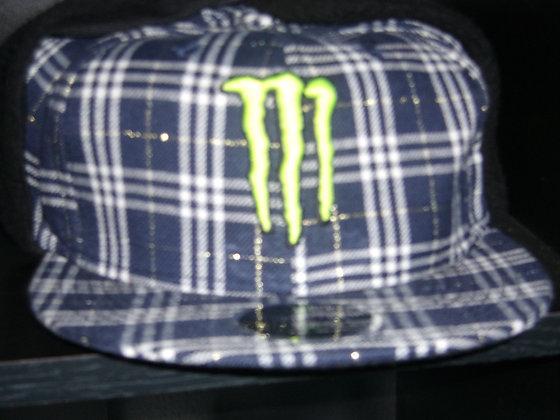 Sz 7 5/8 Monster Energy Winter hat