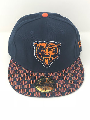 Sz 7 1/8 Chicago Bears Fitted Hat