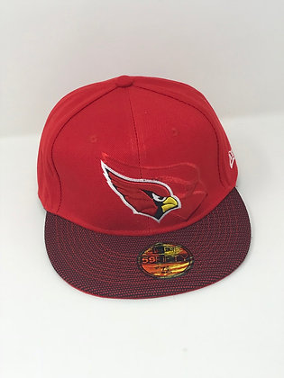 Sz 7 1/2 Arizona Cardinals Fitted Hat