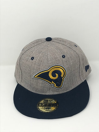 Sz 7 5/8 Los Angeles Rams Fitted Hat