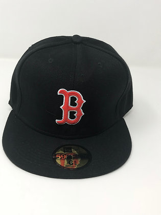 Sz 6 5/8 Boston Red Sox Youth Fitted Hat