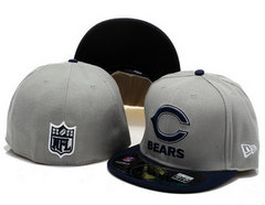 Sz 7 3/4 Chicago Bears fitted hat