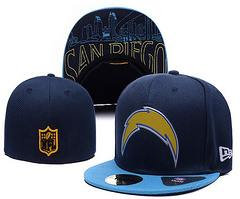 Sz 7 San Diego Chargers fitted hat