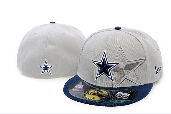 Sz 6 5/8 Dallas Cowboys youth Fitted hat