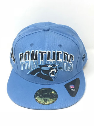 Sz 8 Carolina Panthers Fitted Hat