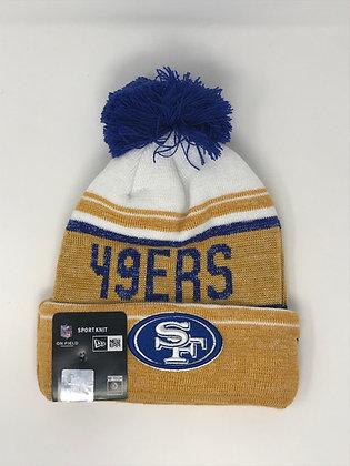 San Francisco 49ers Pom Knit Beanie