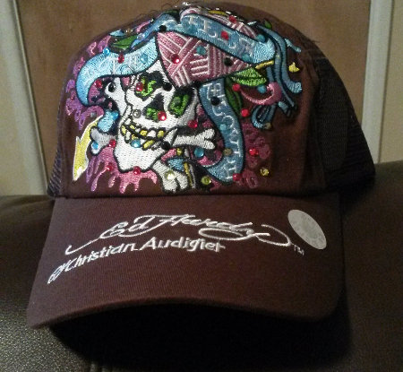 Ed Hardy Adjustable snapback