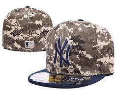 Sz 7 1/2 New York Yankees fitted hat