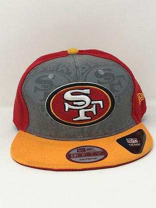 San Francisco 49ers adjustable snapback