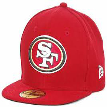 Sz 6 3/8 San Francisco 49ers youth Fitted hat