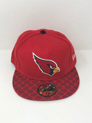 Sz 7 3/8 Arizona Cardinals Fitted Hat