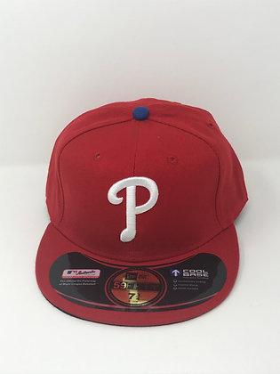Sz 7 3/4 Philadelphia Phillies Fitted Hat