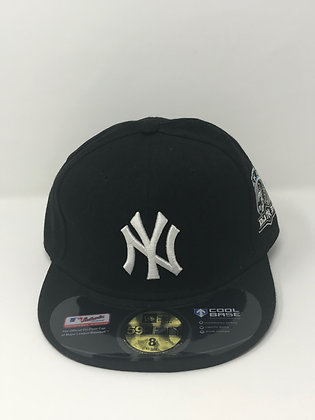 Sz 8 New York Yankees Fitted Hat