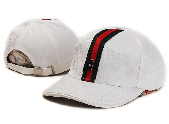 Gucci adjustable hat - White
