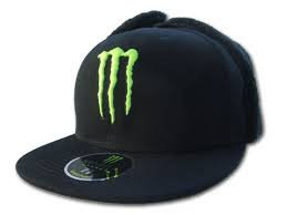 Sz 7 1/2 Monster Energy Winter hat