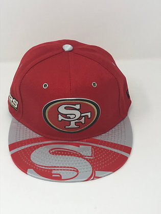 Sz 7 San Francisco 49ers Fitted Hat