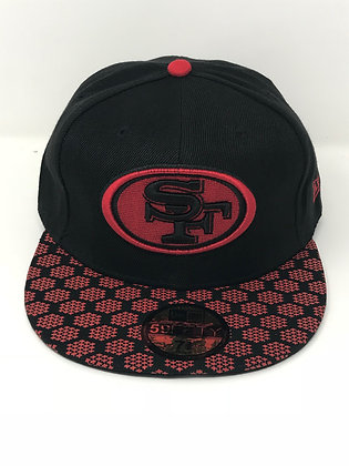 Sz 7 3/8 San Francisco 49ers Fitted Hat