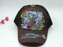 Ed Hardy Adjustable hat - Brown