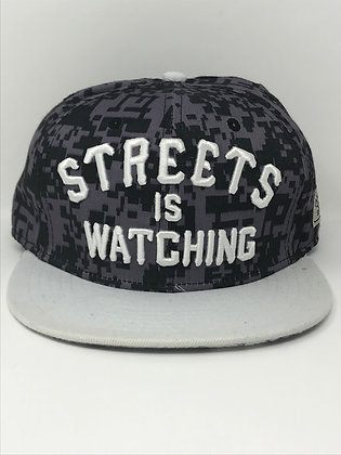 Streets is Watching adjustable snapback