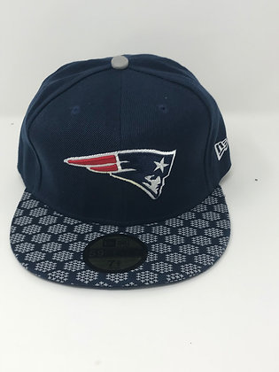 Sz 7 3/8 New England Patriots Fitted Hat