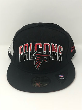Sz 7 3/4 Atlanta Falcons Fitted Hat