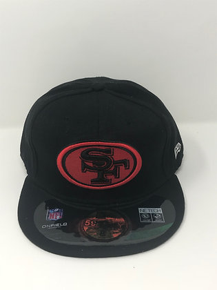 Sz 8 San Francisco 49ers Fitted Hat