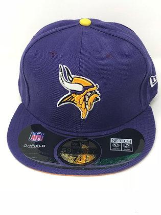 Sz 7 1/4 Minnesota Vikings Fitted Hat