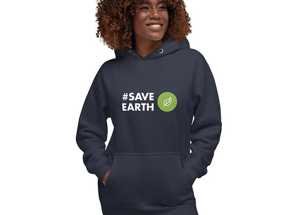 #SaveEarth Unisex Hoodie
