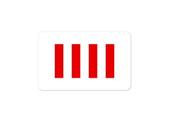 Four Freedoms Sticker